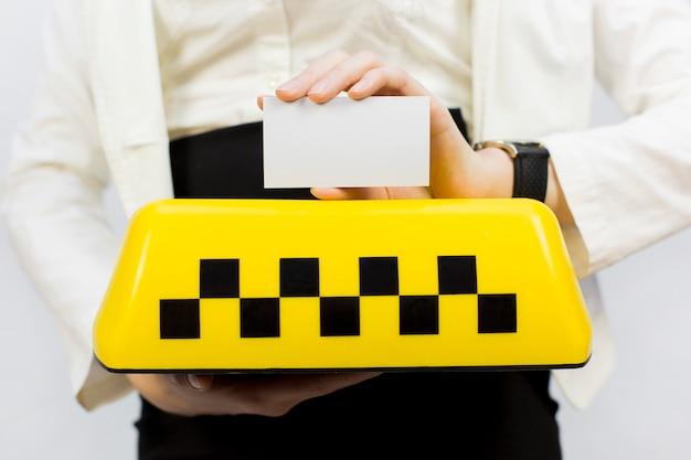 Taxi mädchen dispatcher und andere materialien zum thema taxi