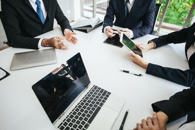 Teambesprechungen und besprechungen