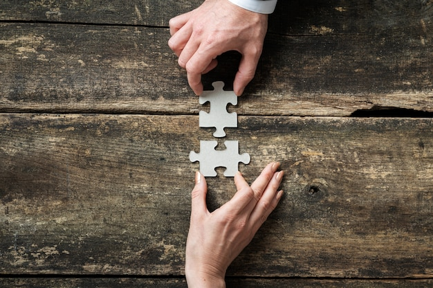 Teamwork und zusammenarbeit