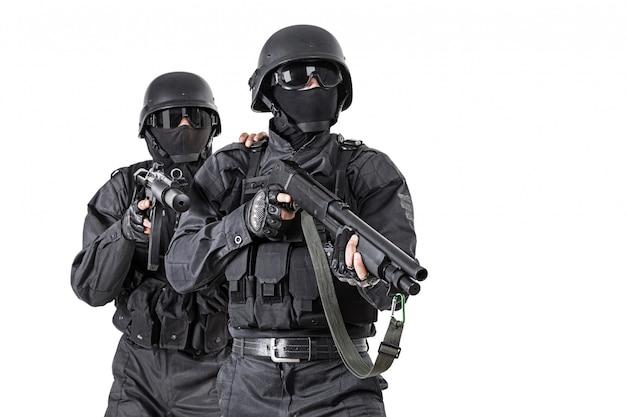 Technische offiziere swat