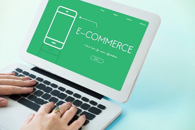 Technologie-app-entwicklung drahtloser e-commerce