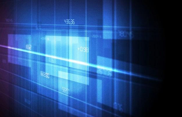 Technologie bildschirmhintergrund
