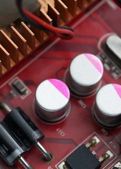 Technologie elektronischen computer motherboard