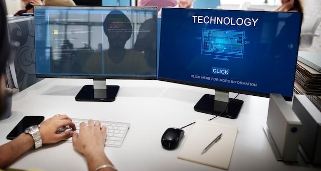 Technologie-innovations-wissenschaft-evolution-lösungskonzept
