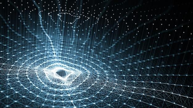 Technologie künstliche intelligenz (ki) und internet der dinge