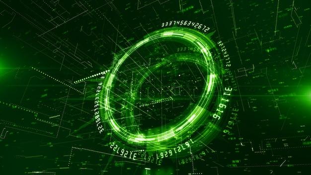 Technologie netzwerk und datenverbindung hintergrund