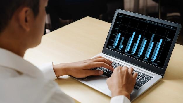 Technologie zur analyse visueller geschäftsdaten durch kreative computersoftware