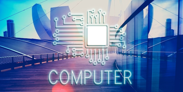 Technologieschaltung netzwerkkonzept