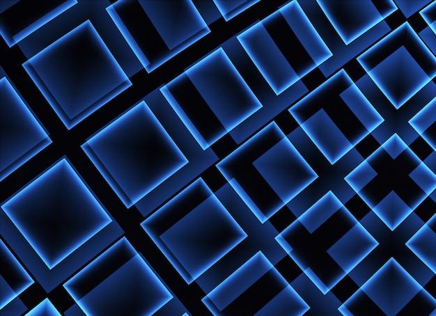 Technologischer strukturierter hintergrund. 3d-fraktalgrafiken. wissenschafts- und technologiekonzept.