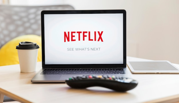 Technologisches gerät mit netfilx app