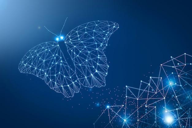 Technologisches konzept des internets und der kommunikation