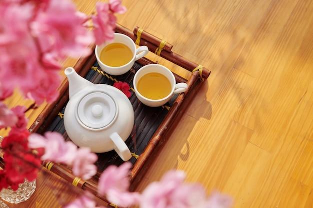 Tee für das neue mondjahr