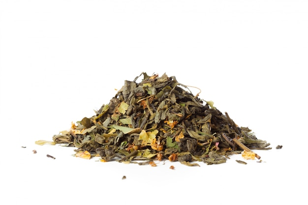Tee, isoliert auf weiss