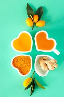 Tee mit zitrone und honig, immunstärkung und erkältungsmittel.