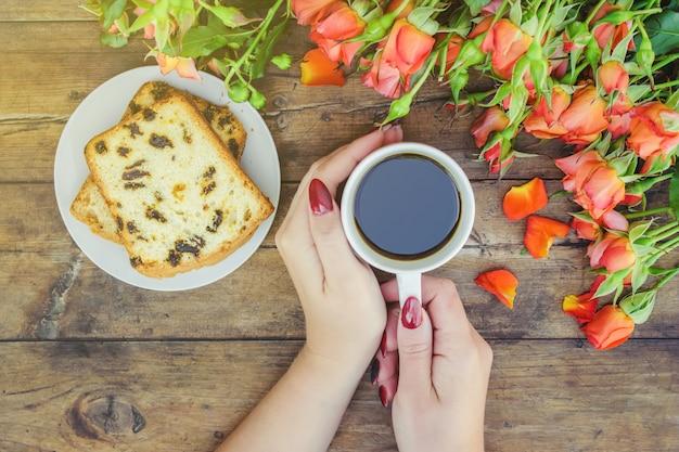 Tee und rosen