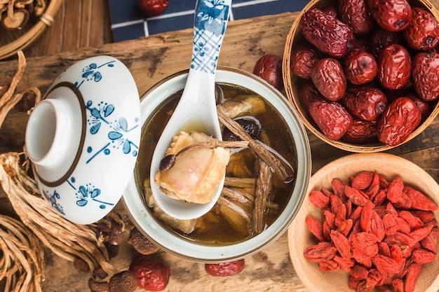 Teebaumpilz-rippeneintopfgericht