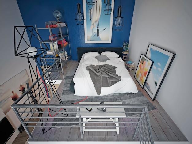 Teen schlafzimmer modernen stil.