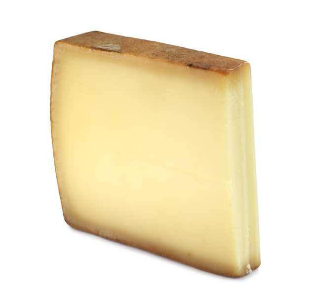Teil des comte fort cheese isoliert