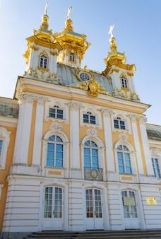 Teil von catherine palace in st petersburg, russland.