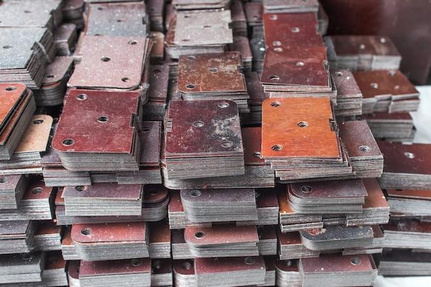 Teile für die montage von elektrischen spulen