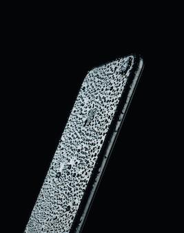 Telefon werbefoto, feuchtigkeitsschutz
