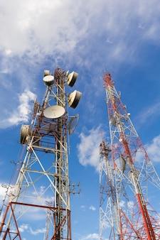 Telekommunikationsmast tv-antennen drahtlose technologie