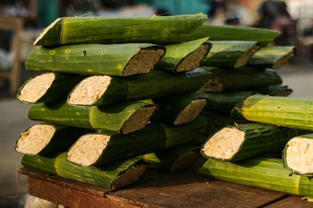 Tempeh gesundes essen aus indonesien traditionelles essen