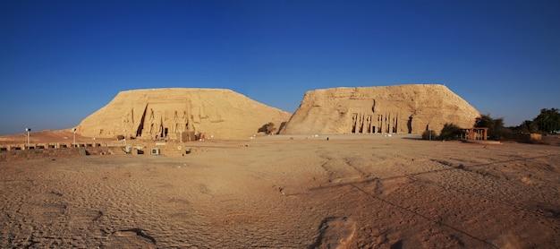 Tempel abu simbel in ägypten