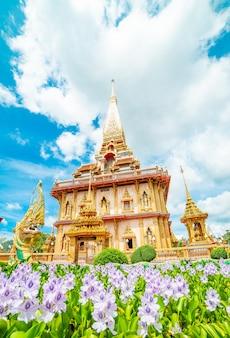 Tempel chalong phuket thailand