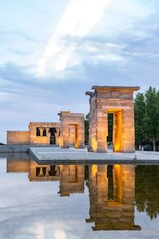Tempel de debod madrid
