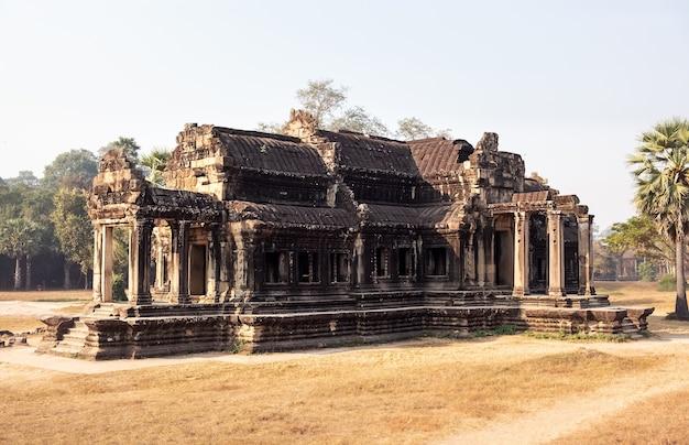 Tempel des angkor wat komplexes, kambodscha