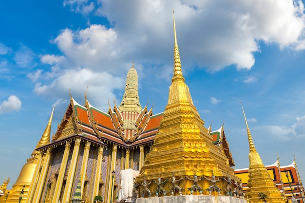 Tempel des smaragd-buddha in bangkok, thailand