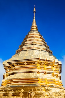 Tempel doi suthep temple in chiang mai in thailand