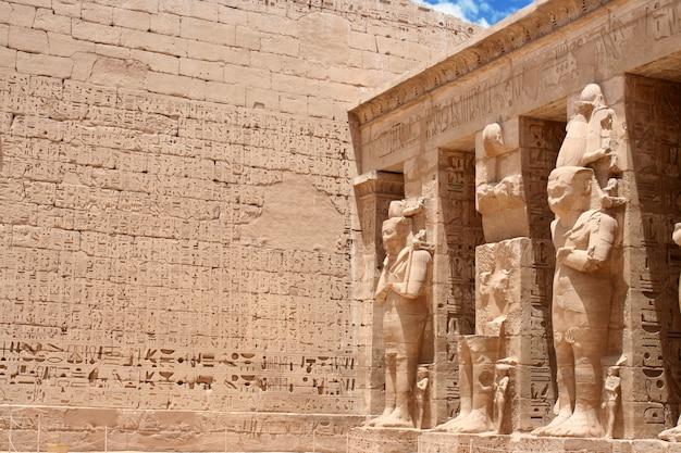 Tempel von edfu in ägypten