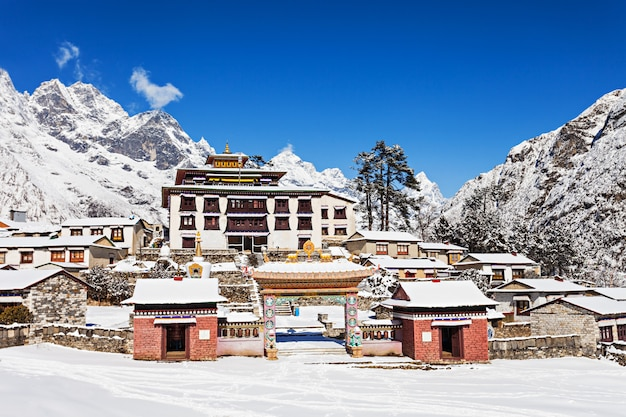 Tengboche-kloster, nepal