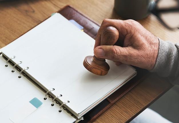Termin-checkliste, die persönliches organisator-konzept plant