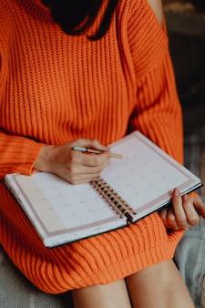 Terminplanung in einer agenda