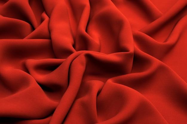Terrakotta-seidenstoff textur.