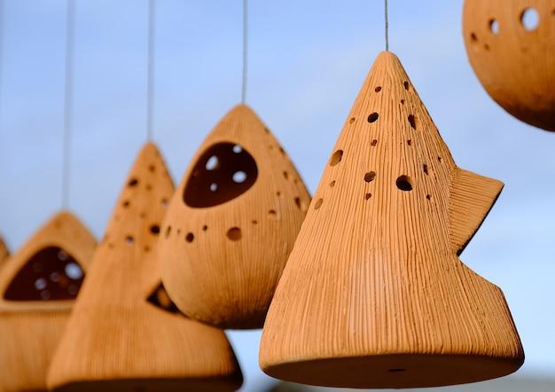 Terrakotta-vogelhäuser