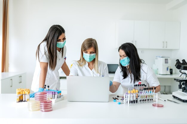 Testen und verhindern der verbreitung ansteckender viren.