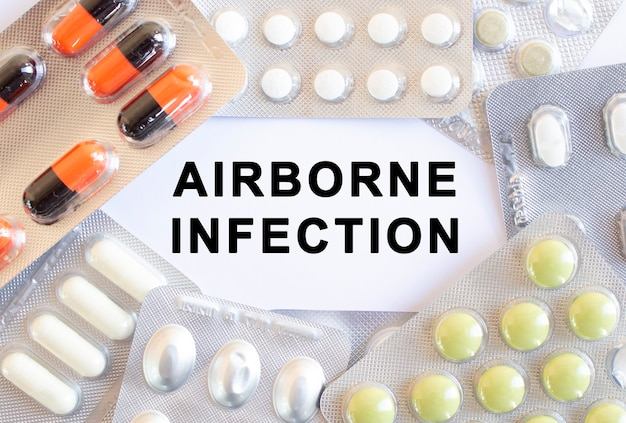 Text airborne infection