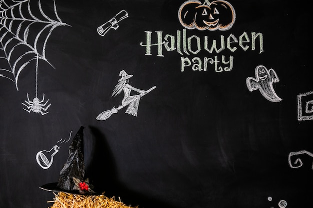Text und bilder für die feier von halloween