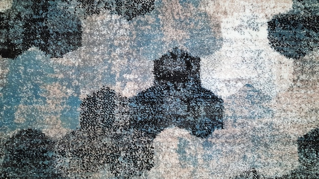Textile blaue textur. ethnisches texturdesign. traditionelles teppichdesign. teppich dekoration. abstrakter hintergrund.