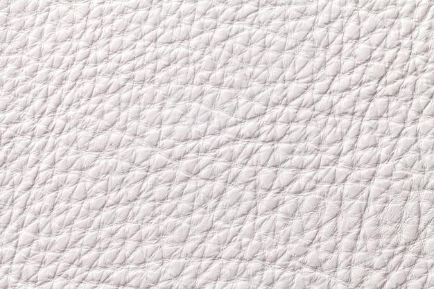 Textilhintergrund des weißen leders mit muster