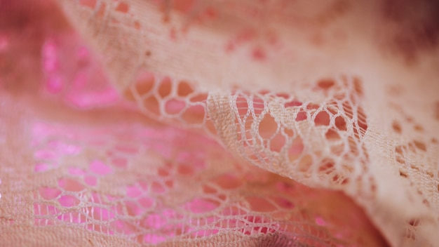 Textilmaterial in feiner masche