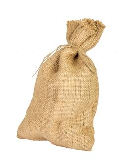 Textilsack mit leerem raum