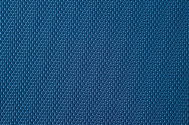 Textur aus blauem gummi