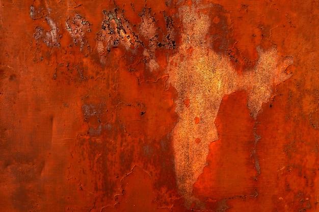 Textur aus rostigem metall. metallkorrosion. hintergrund des alten rostigen eisens. rost und oxidierter metallhintergrund