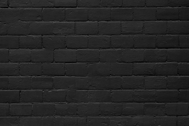 Textur aus schwarzen ziegeln für modernes interieur
