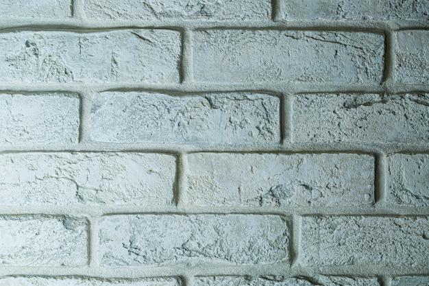 Textur aus weißen ziegeln für eine wand, eine option zum dekorieren einer wand während der renovierung